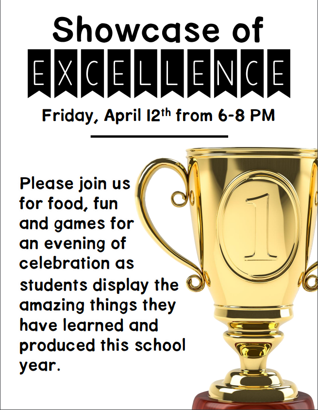 """Showcase of Excellence"""