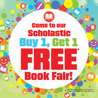 Book Fair - Buy One Get One Free!