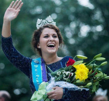 State Fair Queen Visits Preschool