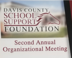 Davis County School Support Foundation Meeting
