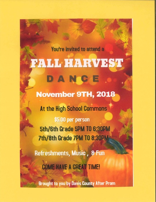 MS Fall Harvest Dance