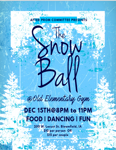 The Snow Ball hosted by DC After Prom