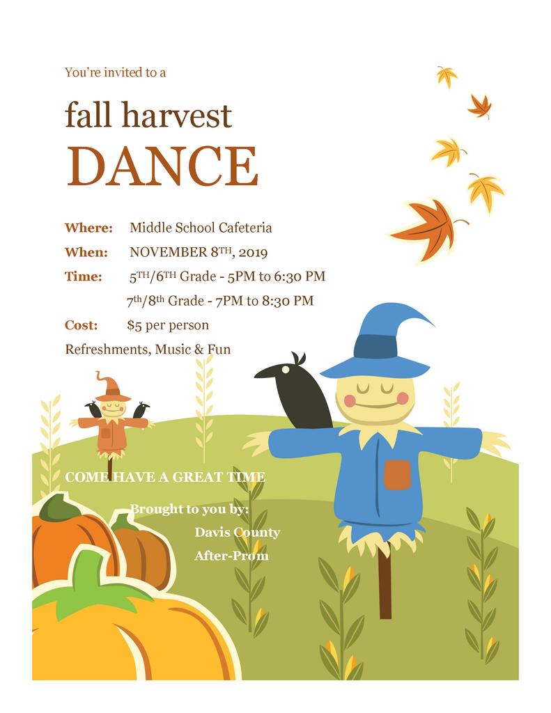 Fall Harvest Dance!!
