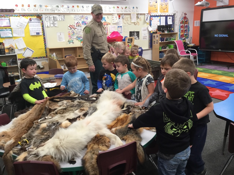 DNR Visits the Elementary